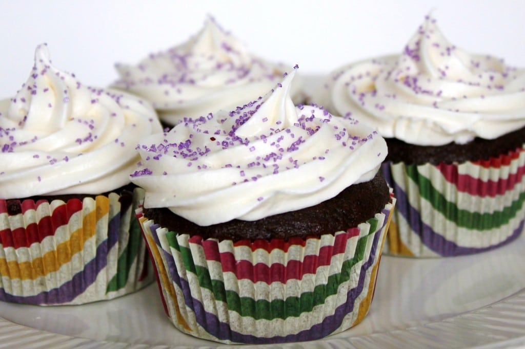 One of THE BEST Chocolate Cupcake recipes I've found! Of course, it's from Martha! She knows her stuff!