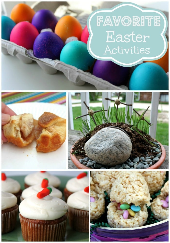 A great collection of activities and recipes to complete with your family for Easter!