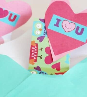 DIY Surprise Valentines Day Card tutorial - super cute and easy!