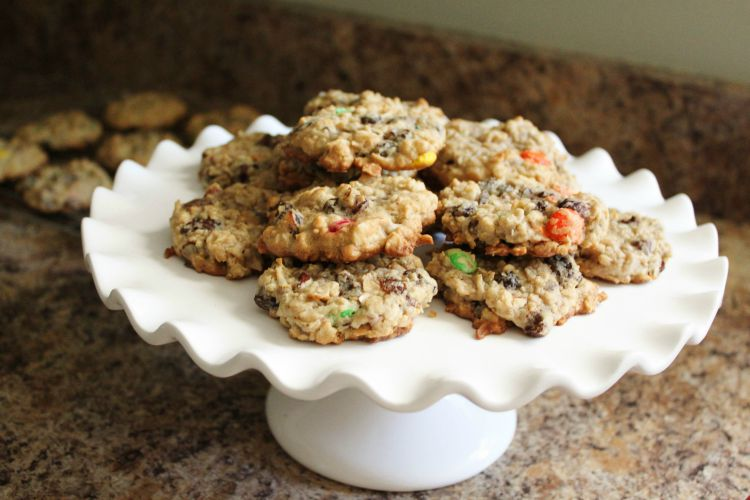 Good for you - Trail Mix Cookies