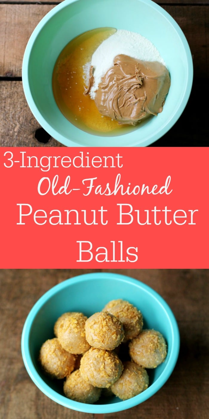No-Bake Old Fashioned Peanut Butter Balls
