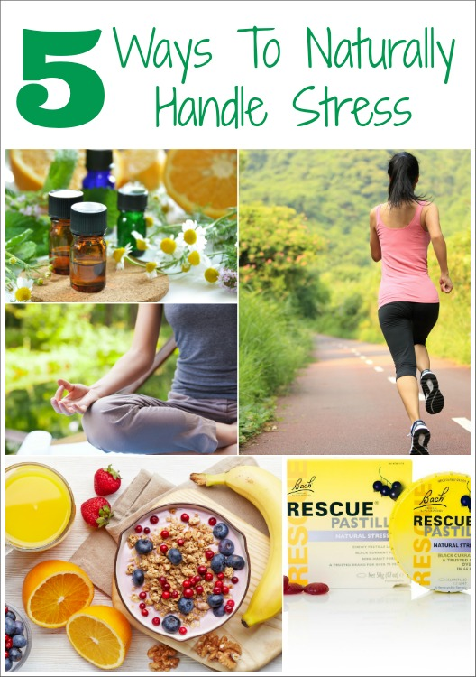 RESCUE Yourself!  Naturally Handle Your Stress with these 5 simple tips!