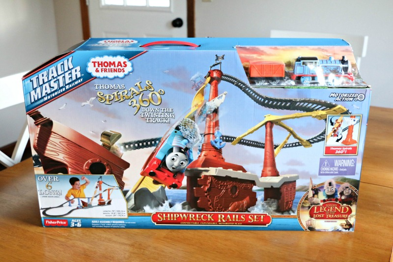 The NEW Thomas & Friends™ TrackMaster™ Shipwreck Rails Set -  Inspired by the Thomas & Friends™ DVD, Sodor's Legend of the Lost Treasure
