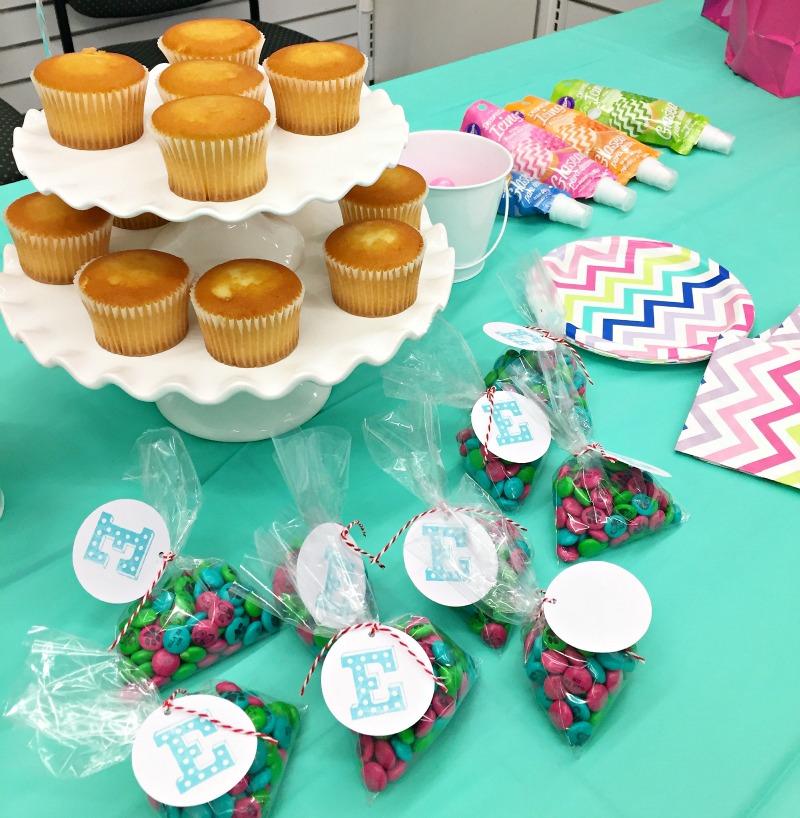 Jo Ann Fabrics Craft Birthday Party