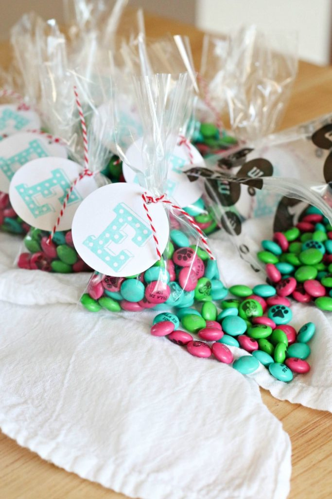 MY M&M's Personalized Treat Bags