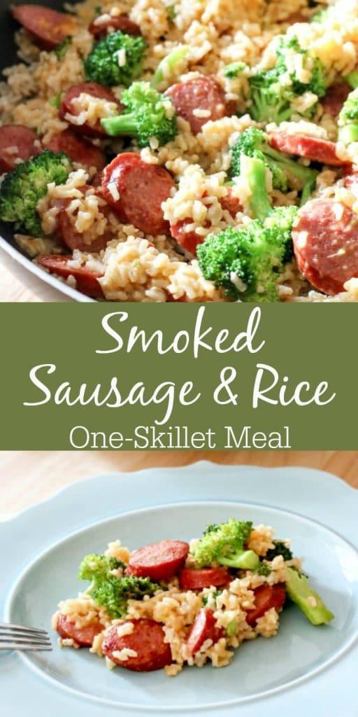 sausage recipe with rice