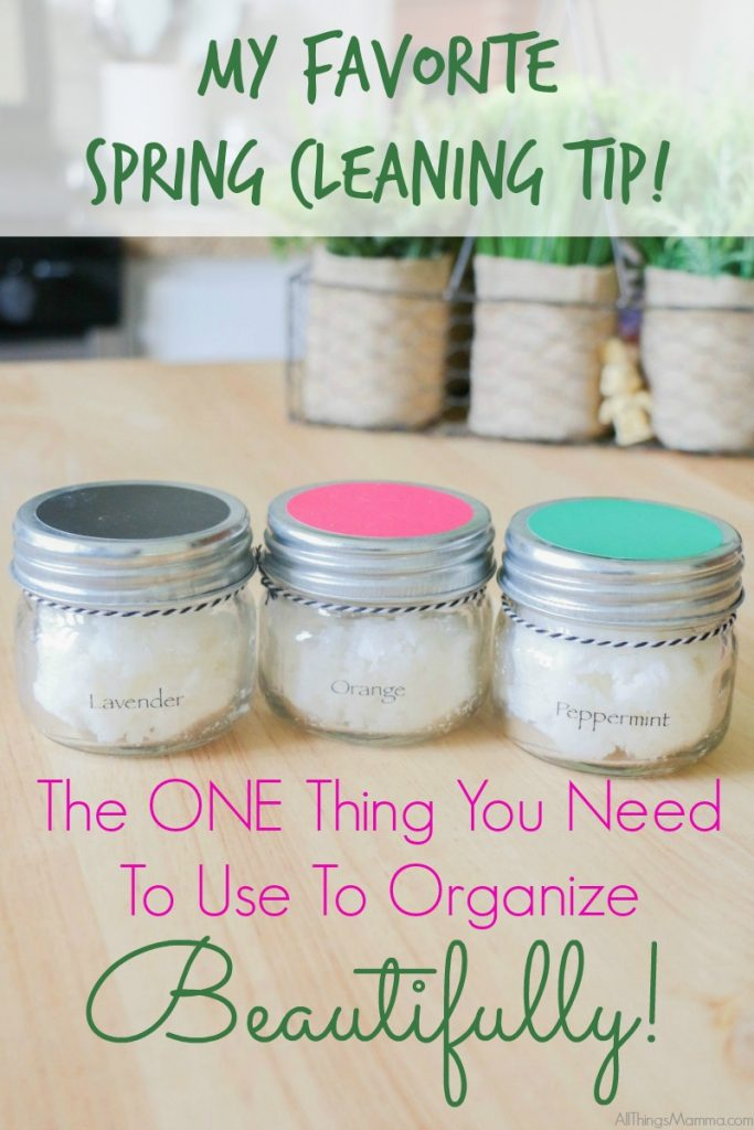 My Favorite Spring Cleaning Tip for Organizing Beautifully!