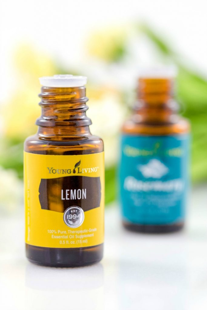Rosemary and lemon essential oils are known to cut through grime, purify and whiten naturally. Use this recipe to clean your kitchen and bathroom surfaces without harmful chemicals!