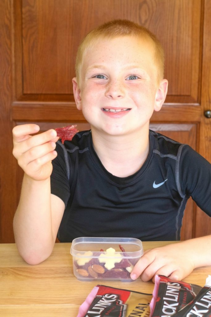 Try these easy to make Protein Packed Snack packs for when your family is on the go to keep them fueled up and ready to go!