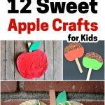 sweet apple crafts for kids