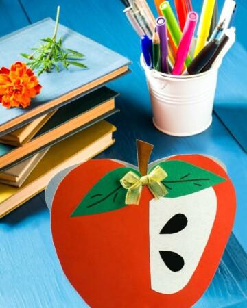 Simple apple craft ideas for kids