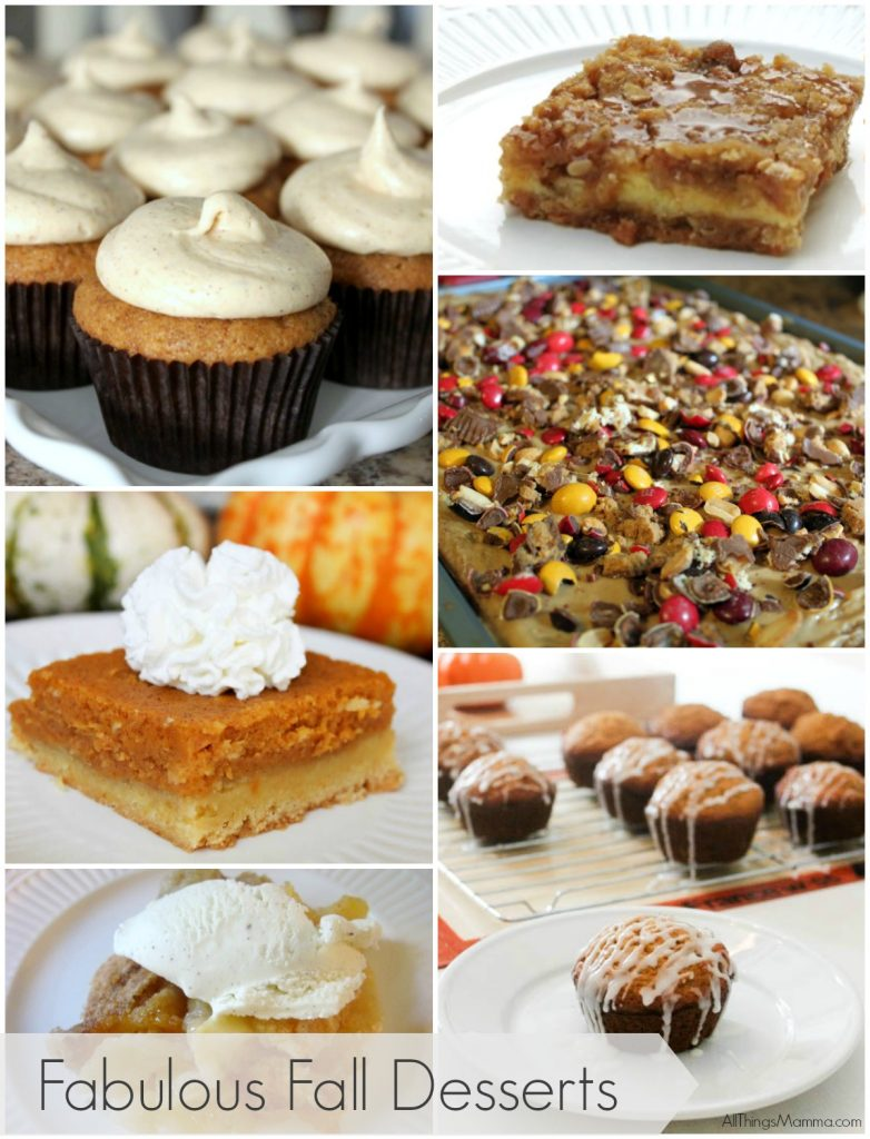 Fabulous Fall Desserts that we all need to try this fall season!