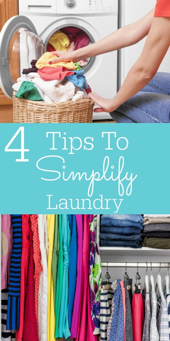 4 Tips To Simplify Laundry