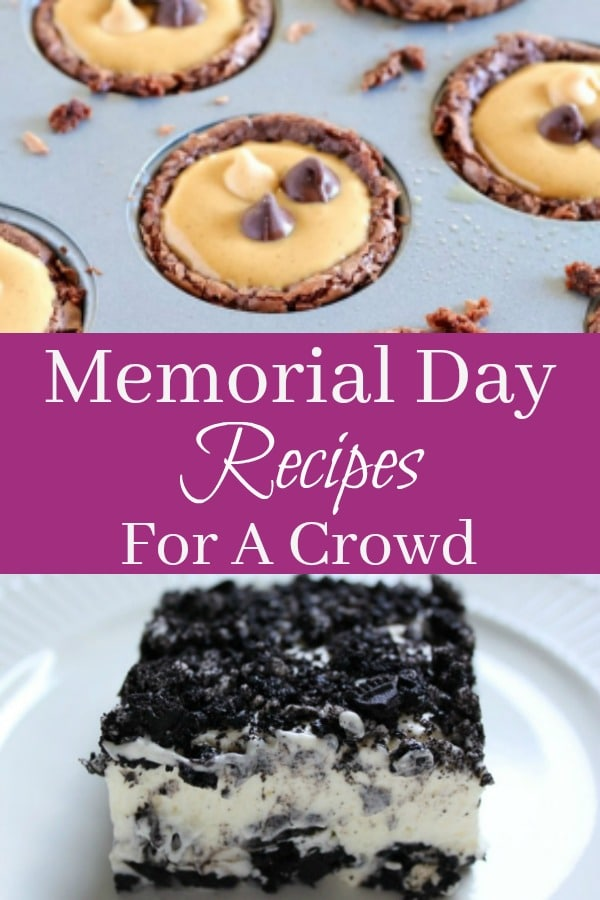 40 of THE BEST Memorial Day Recipes To Feed A Crowd! Picnic favorites!
