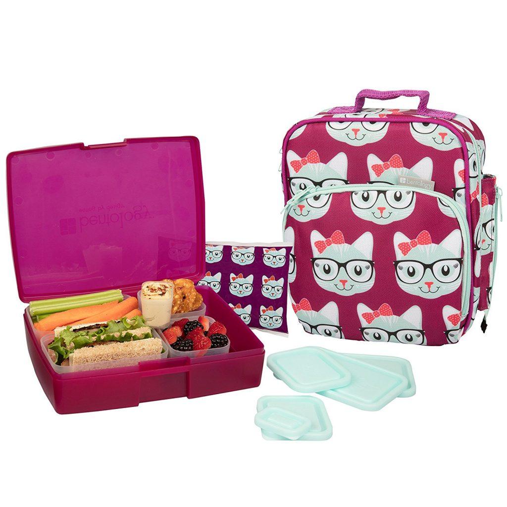 bento box lunch bag for kids