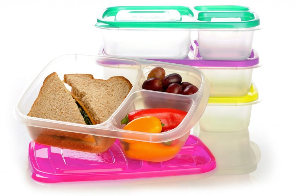 plastic storage containers for lunch boxes