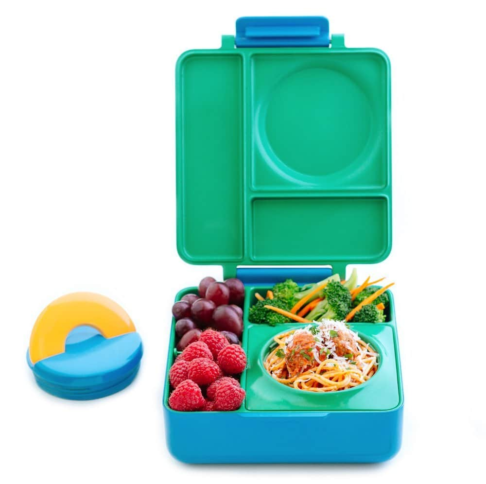 Bento lunch box with kid for kids