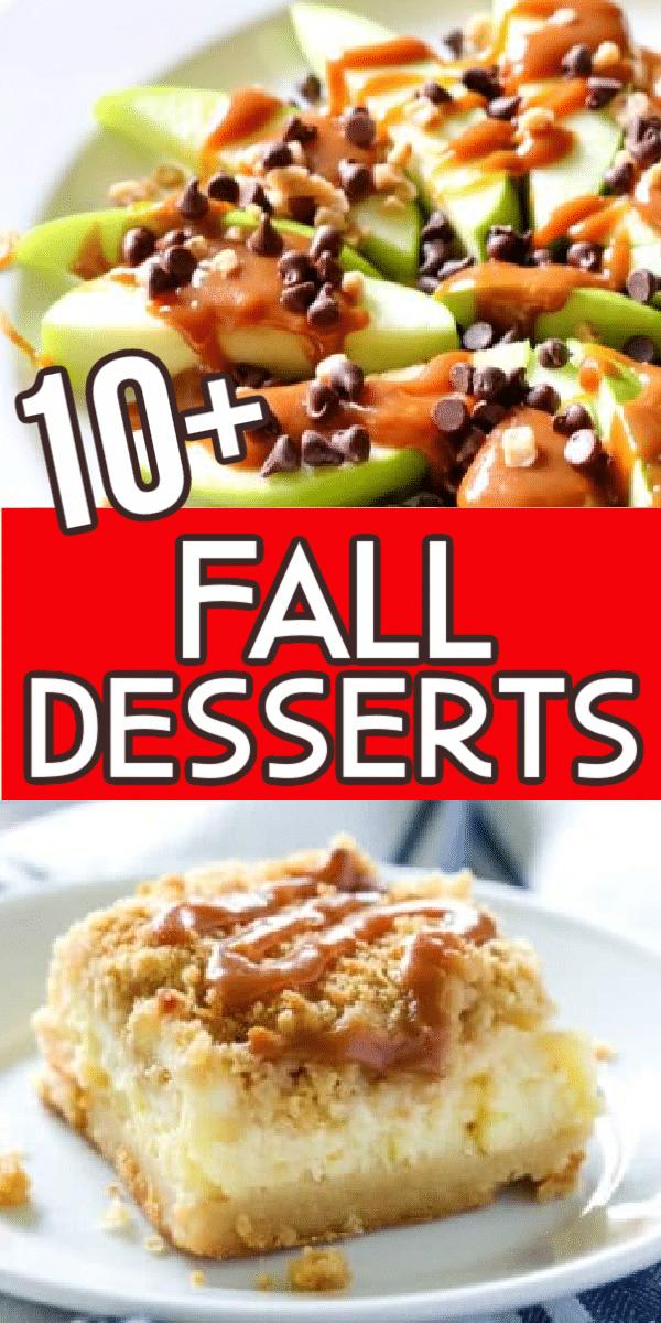 easy fall desserts