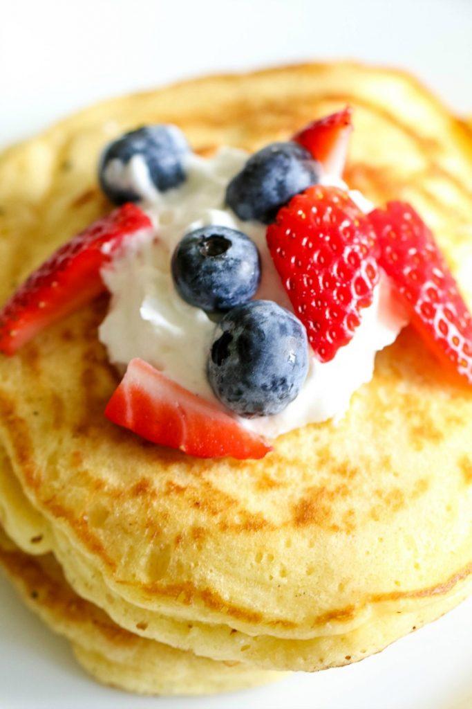 Chocolate & Hazelnut Stuffed Pancakes Recipe