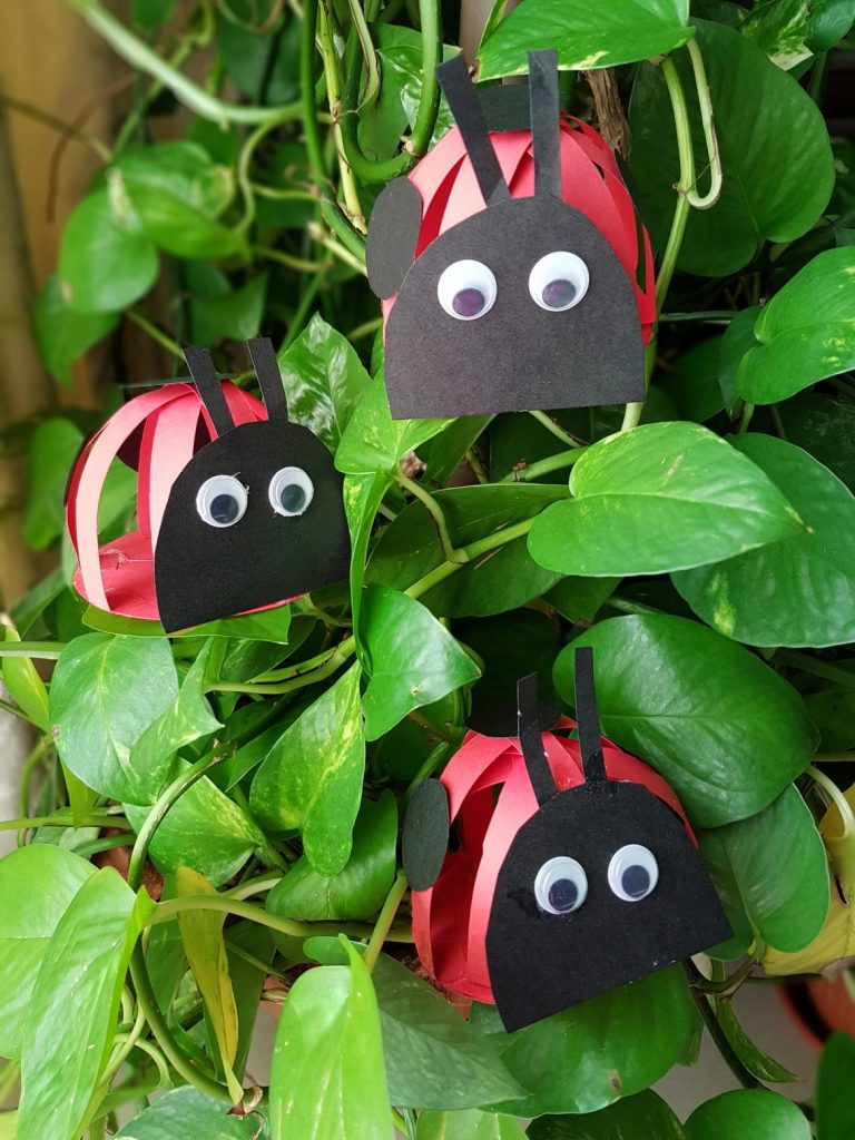Kid Summer Crafts- Angry Ladybugs - Art Craft and Fun