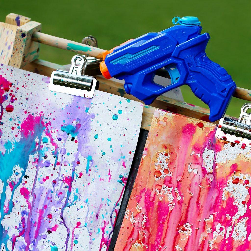 Kid Summer Crafts - Squirt Water Gun