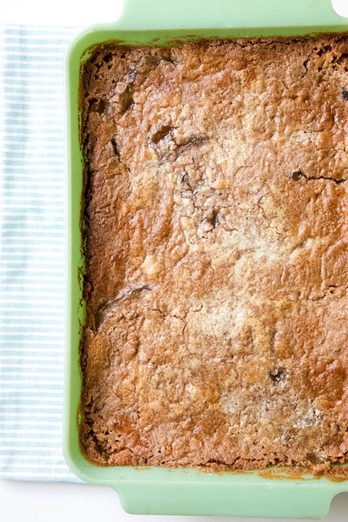 3-ingredient Apple Dump Cake Recipe
