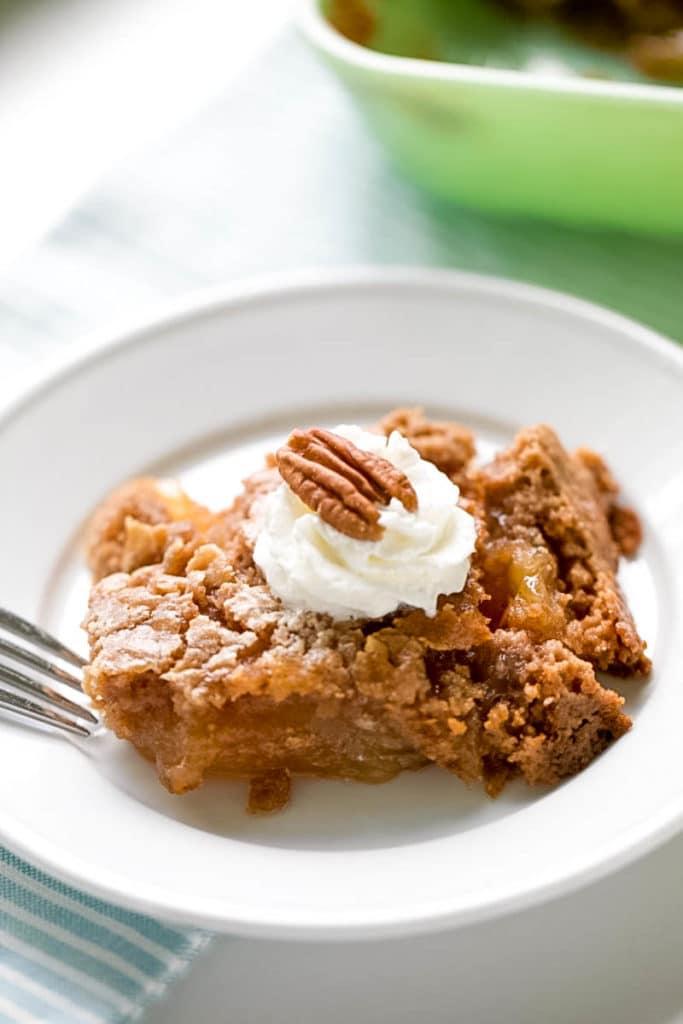 Apple Dump Cake Recipe