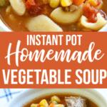 Easy Beef Vegetable Soup Recipe