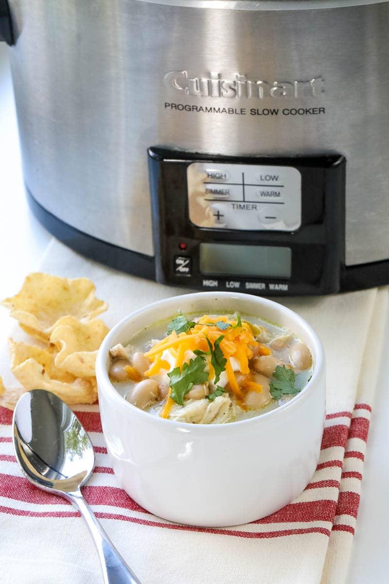 simple crockpot chili recipe with chicken
