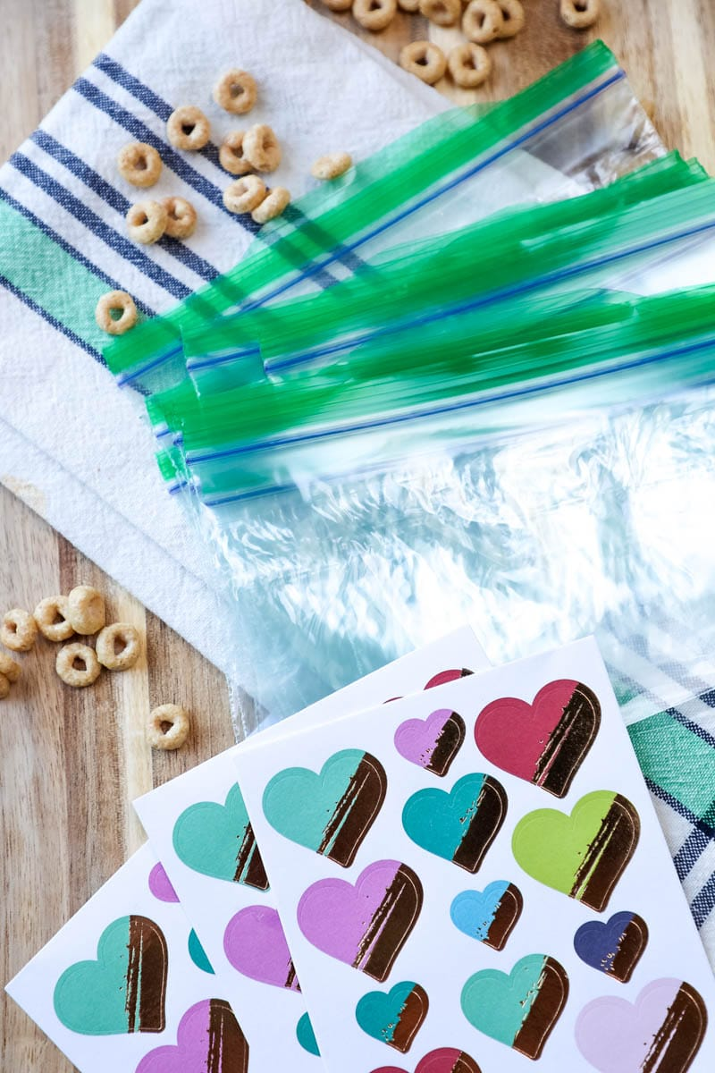 sealable bags for cereal bars