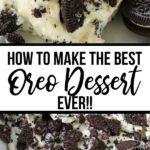 how to make the best oreo dessert ever!