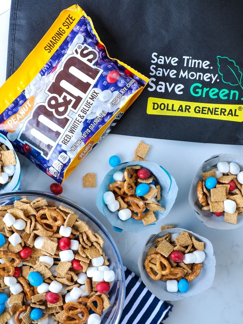 dollar general snack mix ingredients