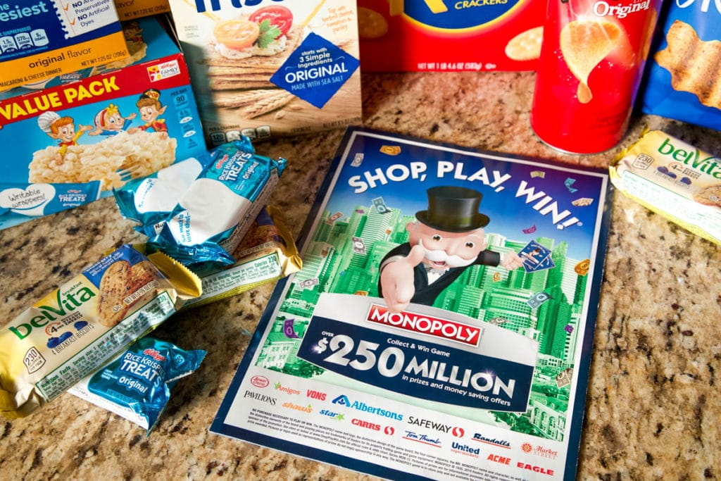 monopoly game at jewel osco game