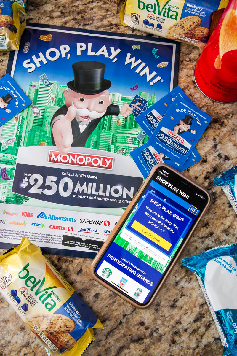 shop, play, win game and app for jewel osco