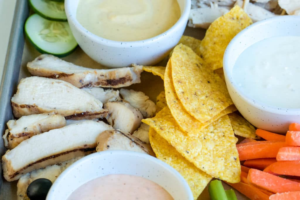 How To Make Game Day Party Platters