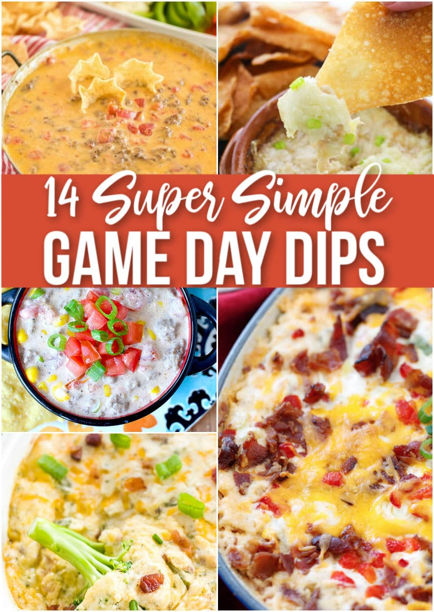game day dips