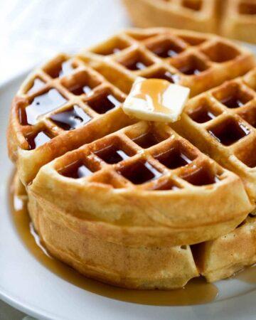 Easy Homemade Waffle Recipe