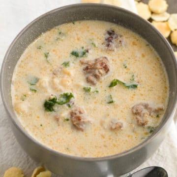 Low Carb Keto Zuppa Toscana Soup