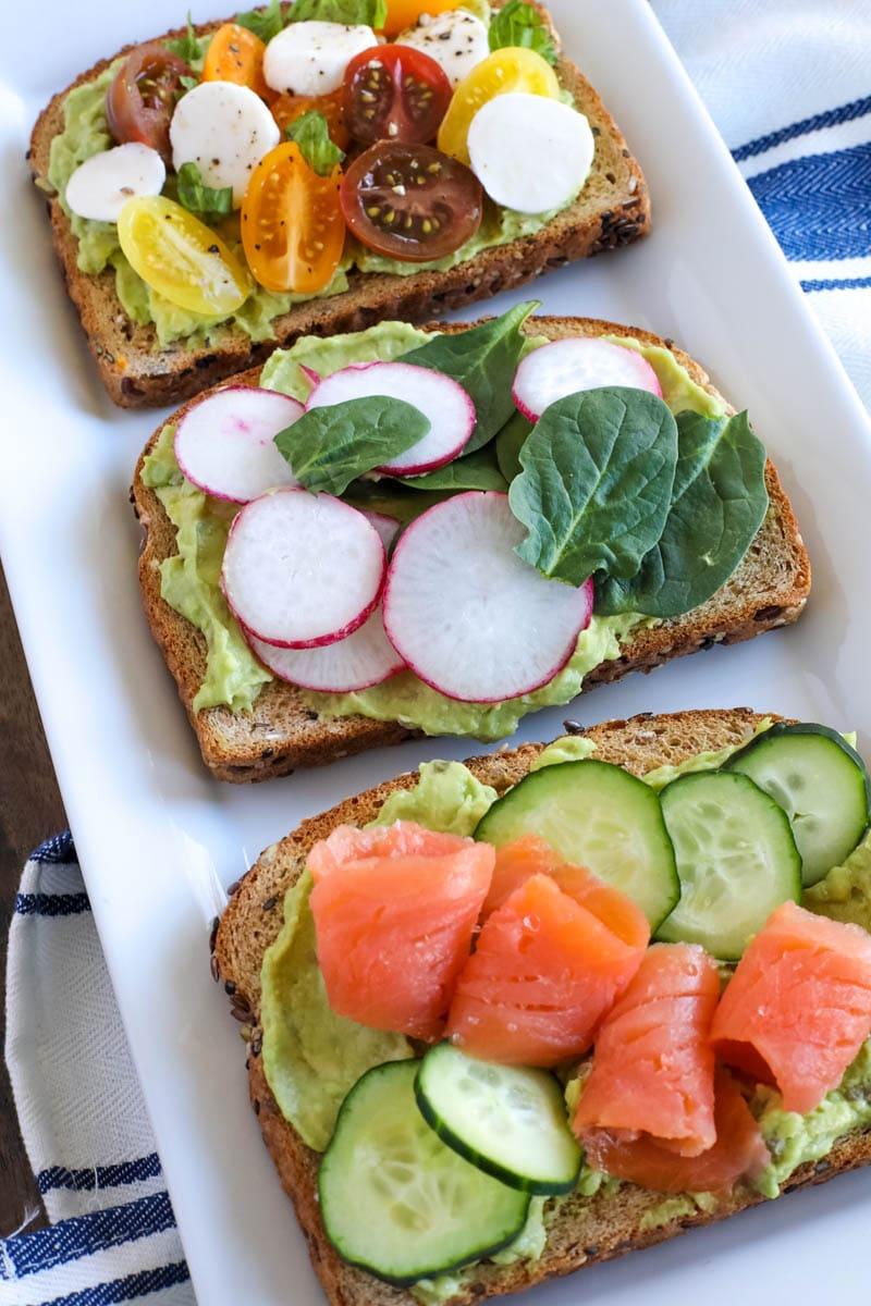 how to make creamy avocado toast