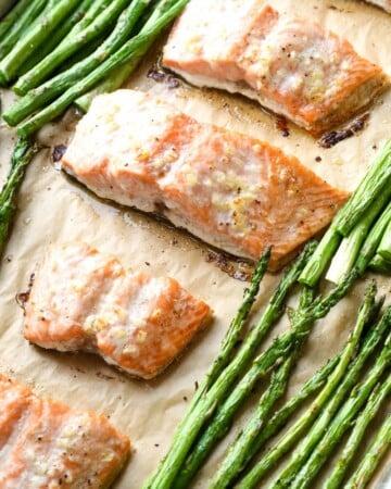 baked salmon dinner recipe