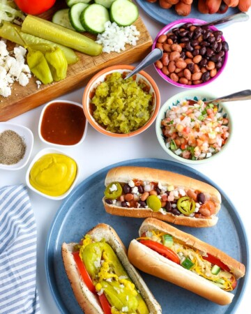 slow cooker hot dogs