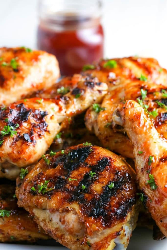 grilled BBQ chicken recipe