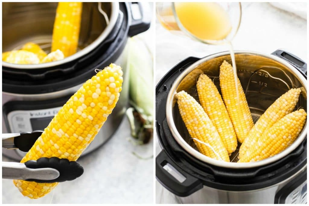 Tips for cooking corn on the cob in the Instant Pot