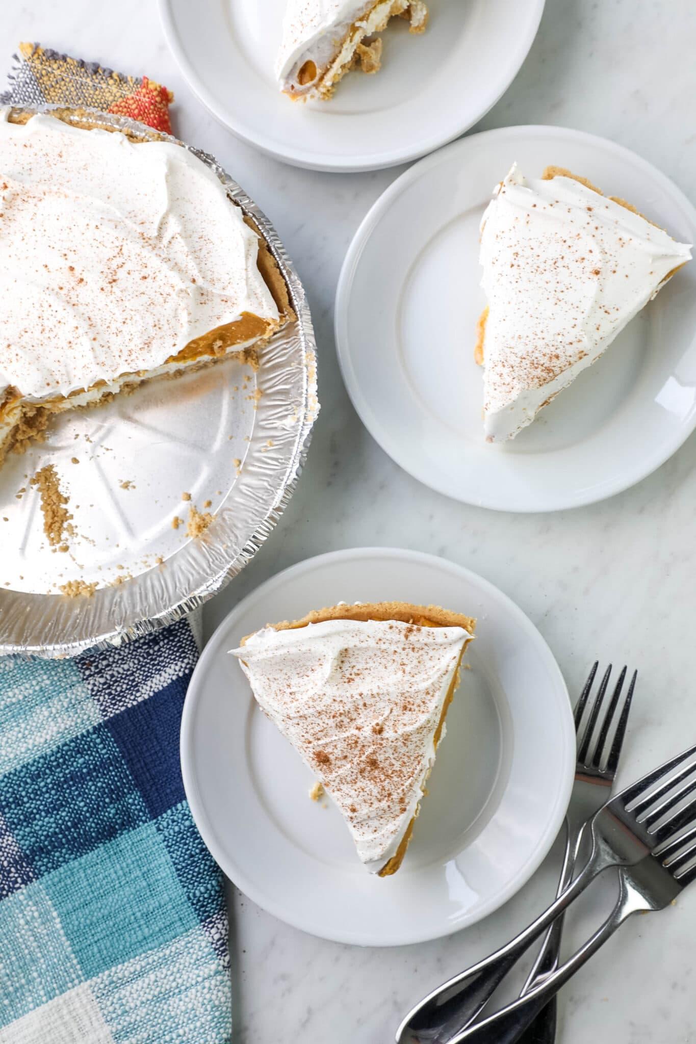 pumpkin pie no oven needed