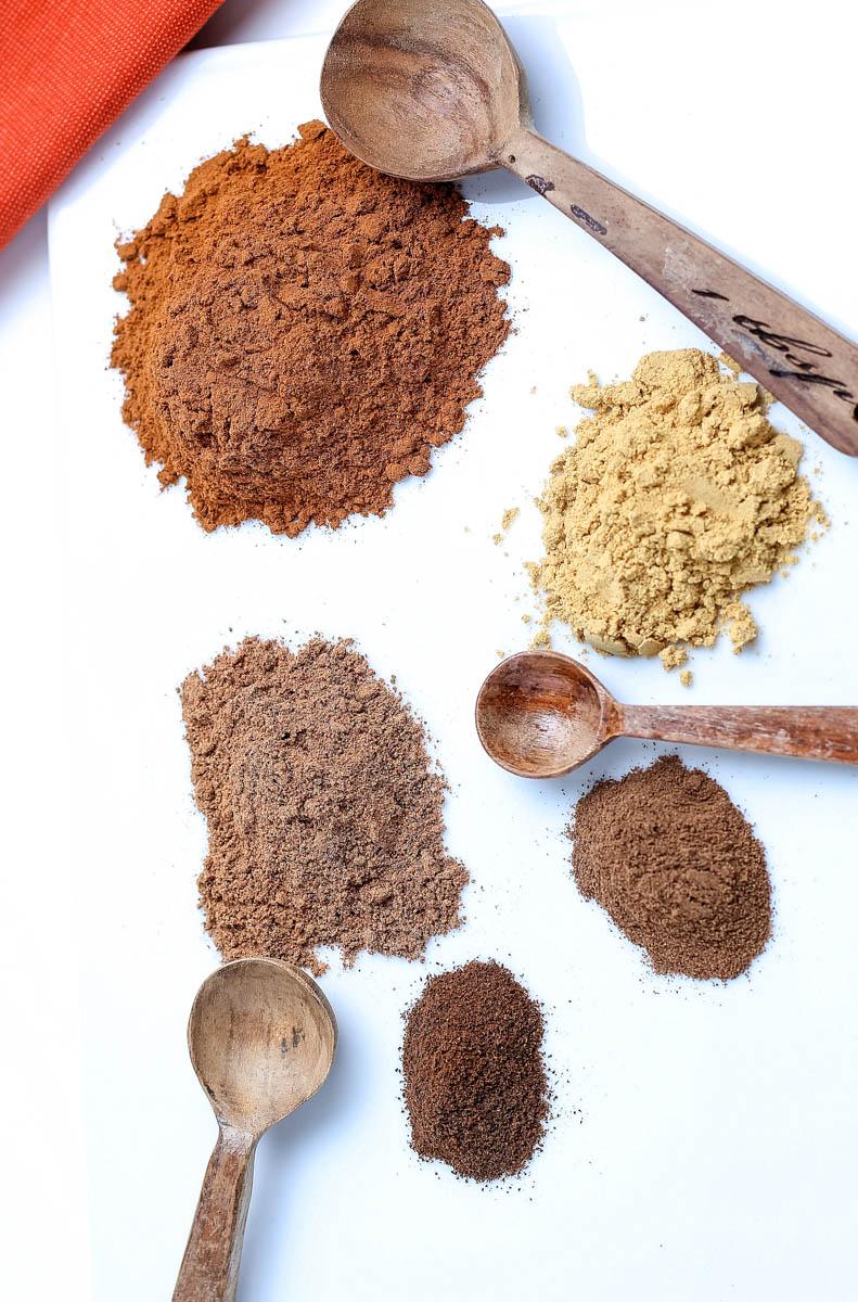 pumpkin spice ingredients