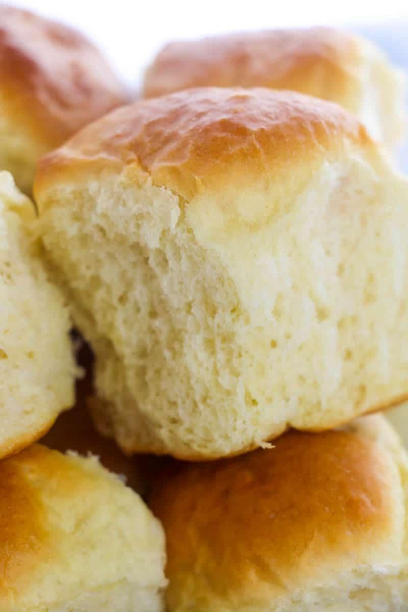 fluffy dinner roll recipe