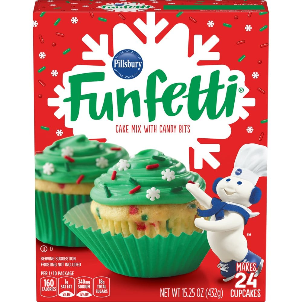 Funfetti Holiday Blue Cake Mix And Frosting Are Here, So Winter Can Officially Begin!