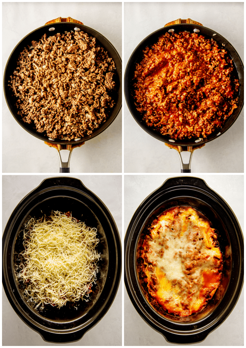 how to make lasagna in the crockpot
