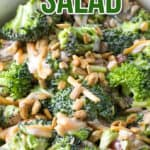 The Easiest Broccoli Salad