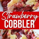 Sweet and Delicious Strawberry Cobbler